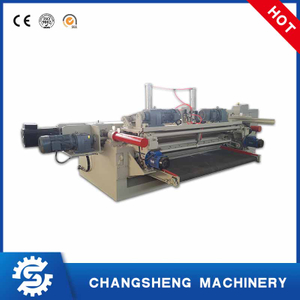 Hydraulic 6 Feet Plywood Veneer Peeling Machine
