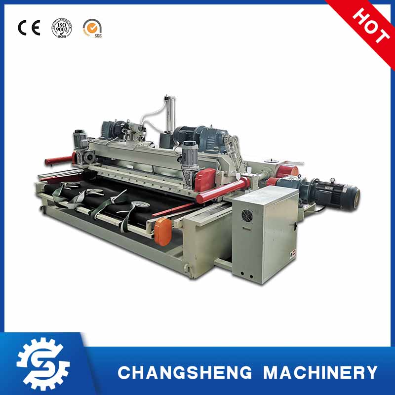 Spindle less rotary 6 feet plywood veneer peeling machine