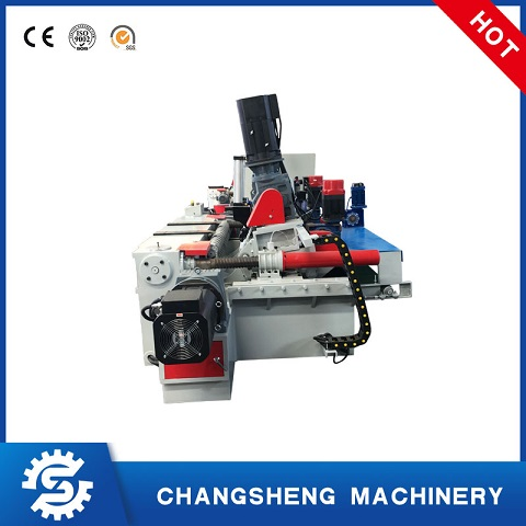 4ft Plywood Veneer Peeling Machine Rotary Cutting Lathe