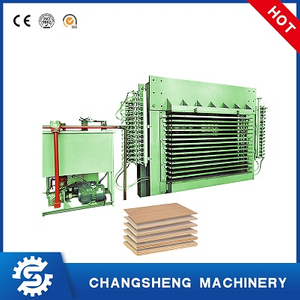 15 Layers Hot Press Machine for Plywood Veneer