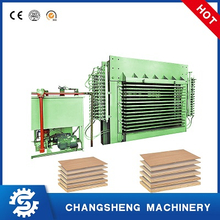 500 TON Hot Press Machine for Plywood Production