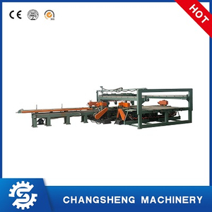Plywood Double Dimension Trimming Saw High Precision Auto