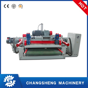 4 Feet Spindle Less Wood Veneer Rotary Peeling Machine