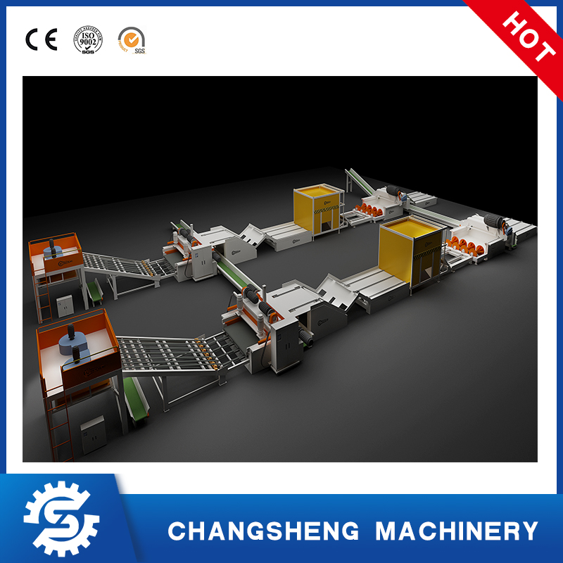 Plywood Veneer Production Line 4 Feet Spindle-less