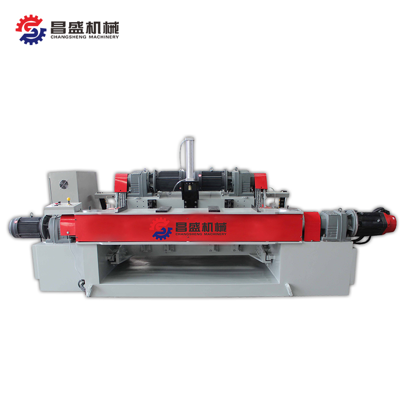 High speed four feet veneer peeling machine