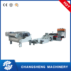 Spindle less Core Veneer Peeling Line 4/8 Feet